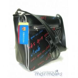 Cinturon en lona con remates piel El Potro Ubrique ref.2619