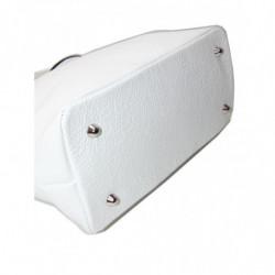 Bolso de piel marca El Potro Ubrique estilo saco negro