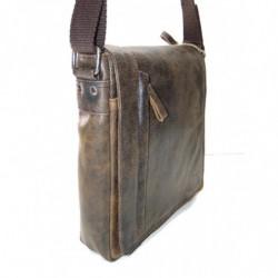 Bolso de piel marca El Potro Ubrique estilo saco