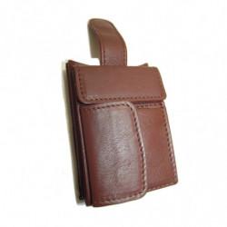 Cartera billetera de mujer Ubrique El Potro color moka ref.2649